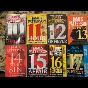 Accents - James Patterson books